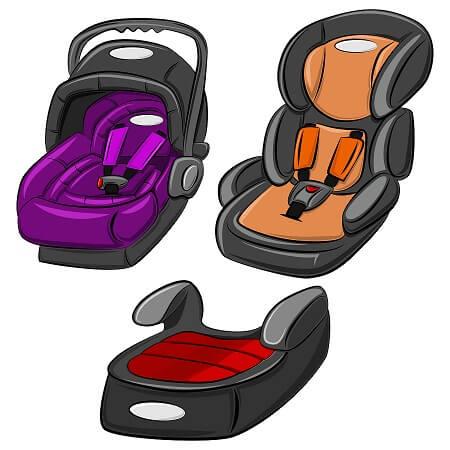 babyskydd bilbarnstol och bälteskudde