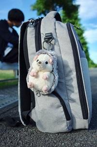 Skötväska i form av en ryggsäck