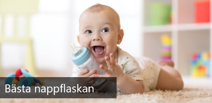 bästa nappflaskan för bebisar