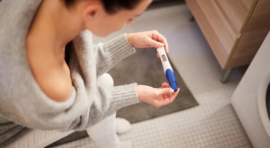 kontroll av graviditetstest
