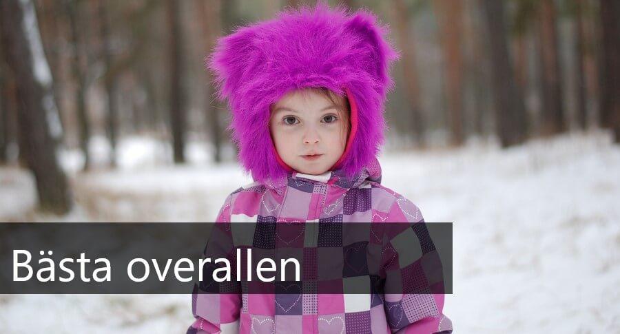 bästa overallen för baby och barn