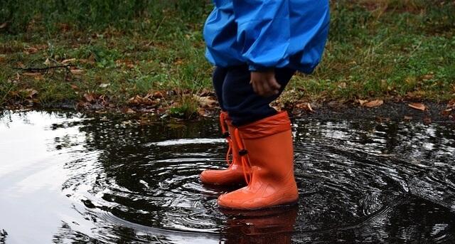 kolla vilken vattentålighet din overall har